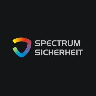 Regenbogen Logos Spectrum Sicherheit