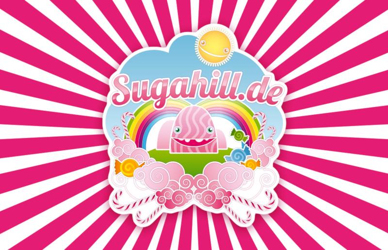 Sugahill-Regenbogen-Logo-Design