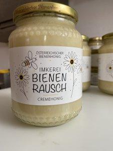 Logo-Design für Imkerei Bienen Rausch