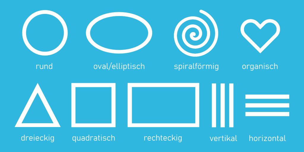Unterschiedliche Logoformen Blog-Beitrag designenlassen.de