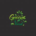 Logo-Design für veganen Supermarkt Green Vood