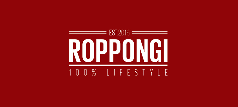 Roppongi Horizontale Linien im Logo