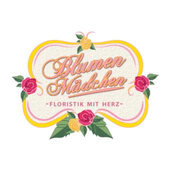 Rose-Logo-Design-Blumenmädchen