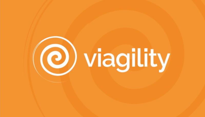 Viagility-Logoformen-Spirale-Logo-Design