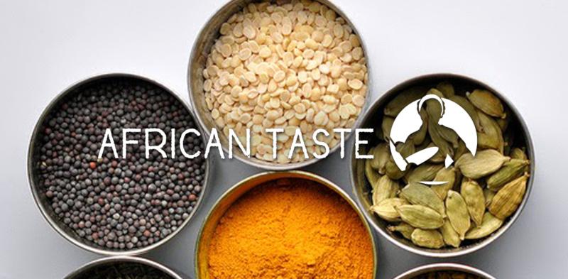 African-Taste-Food-Logo-Design