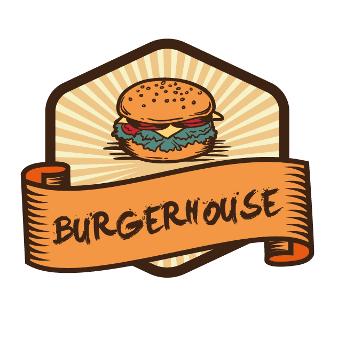 Burger-House-Food-Logo-Design