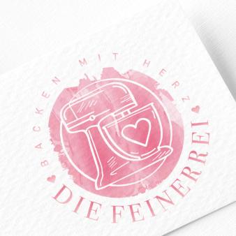 Fooblog Logo-Design Hauptthema Backen