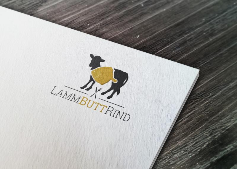 Food-Logos-für-Restaurant-LammButtRind
