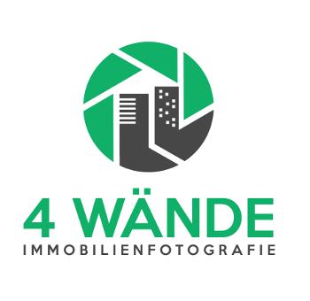 Haus Logo, 4 Wände Immobilienfotografie