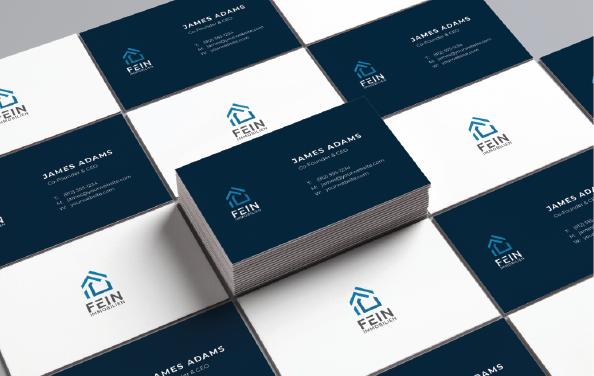 Haus Logo, Fein Immobilien