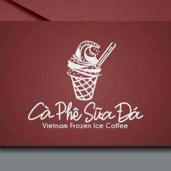 Logo-Food-Vietnam-Frozen-Ice-Coffee-Ca-Phe-Sua-Da