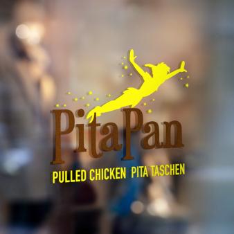 PitaPan Food Logo Design