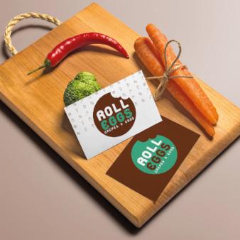 Roll-Eggs-Streetfood-Foodtruck-Logo-Design-Food