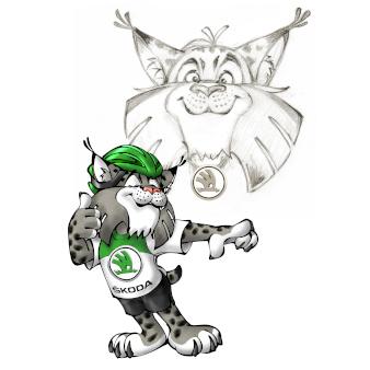 Gezeichnetes und kreatives Logo-Design