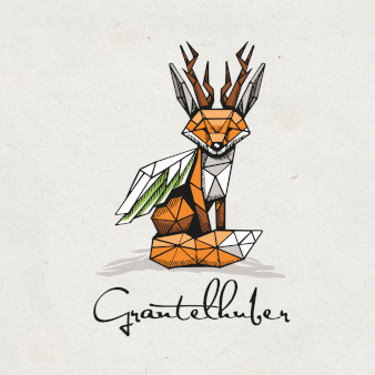 Grantelhuber geometrisch kreatives Logo