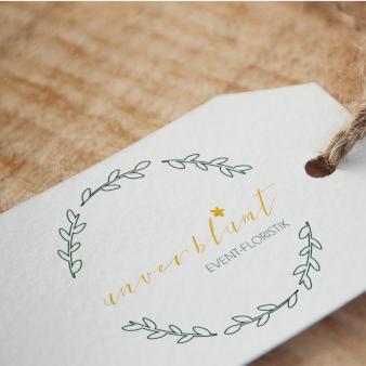Unverblühmt-Event-Floristik-Logo-Blumenladen