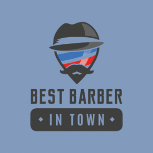 Best-Barber-in-Town-Barber-Shop-Logo-Design