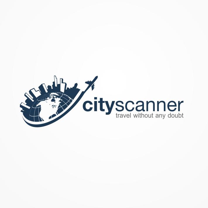 Erde Logo für City Scanner