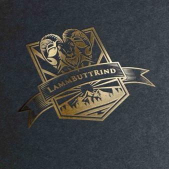 Emblem-Unternehmenslogo-Design-LammButtRind