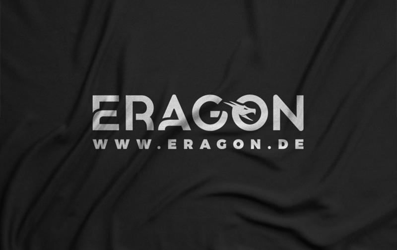 Eragon typografische Unternehmenslogos