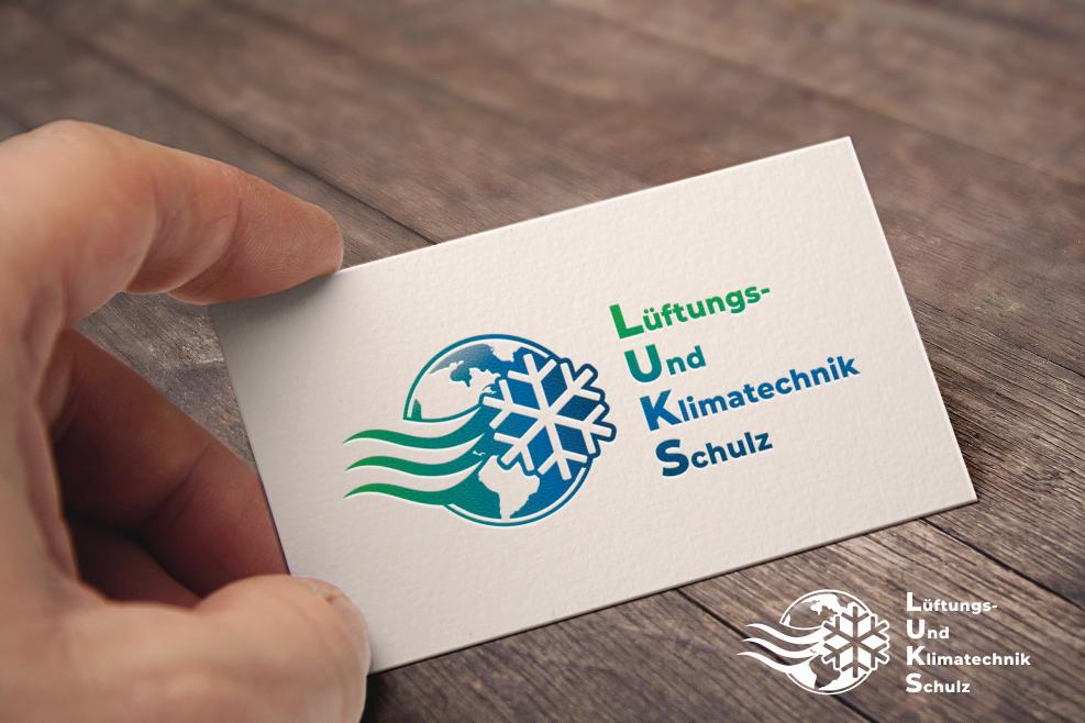 Logo Design mit Erde für LUKS