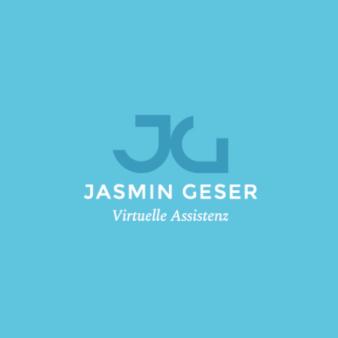 Modernes-Unternehmenslogo-Jasmin-Geser-Virtuelle-Assistenz