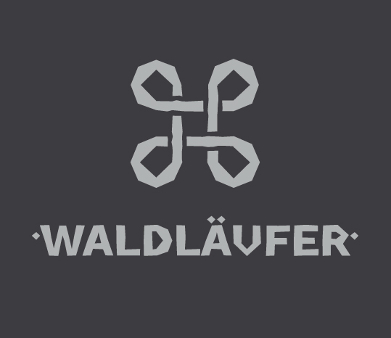 Outdoor Logo, Waldläufer