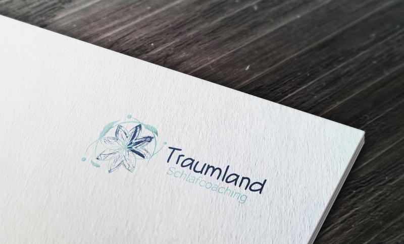 Traumland-Schlafcoaching-Unternehmenslogo-Design-abstrakt
