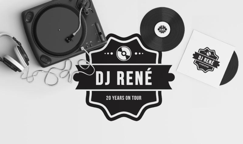 DJ-Rene-Entertainment-Logo-Design