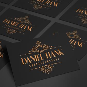 Daniel-Hank-Zauberkuenstler-Entertainment-Logo-Design