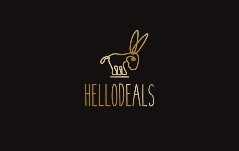 HelloDeals Logo-Design das beste