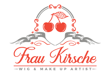 Make Up Artist Logo, Frau Kirsche