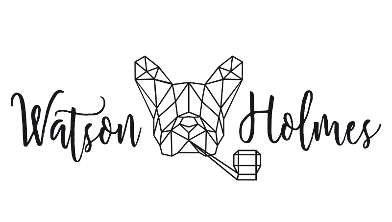 Künstler Logo, Watson Holmes