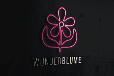 Künstler Logo, Wunderblume