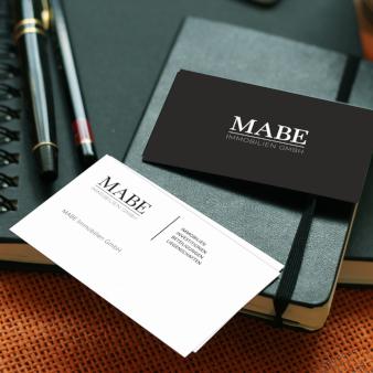 Mabe-Immobilien-GmbH-Visitenkarten-Design-Immobilienmakler