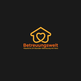 Moderne-Designs-Betreuungswelt-Logo