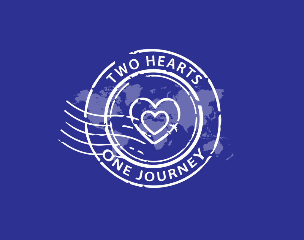 Two Hearts - One Journey Blog Logo