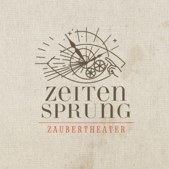 Zeitensprung-Zaubertheater-Logo-Design-Entertainment