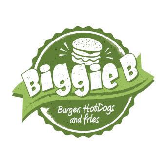 Biggie B Burger Logo-Design