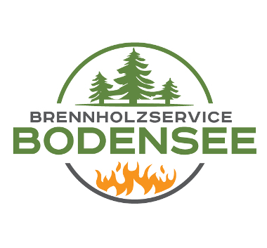 Flammen Logo, Brennholz Bodensee