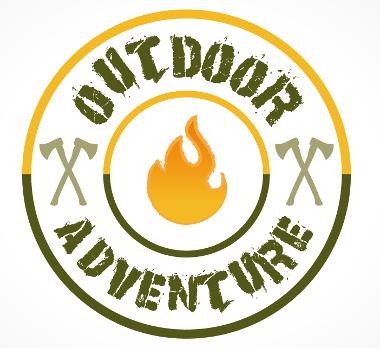 Flammen Logo, Outdoor Adventure