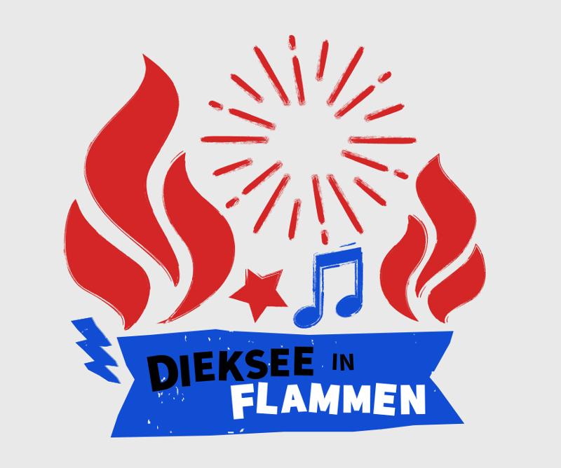 Flammen Logo, Dieksee Flammen
