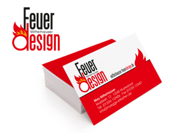 Flammen Logo, Feuerdesign