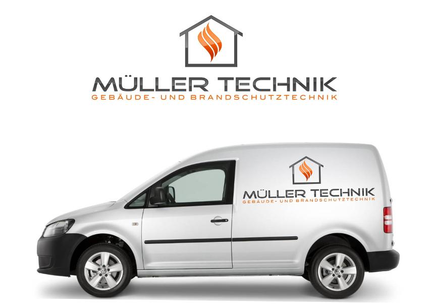 Flammen Logo, Müller Technik