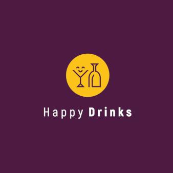 Getraenkelogo-Design-Happy-Drinks