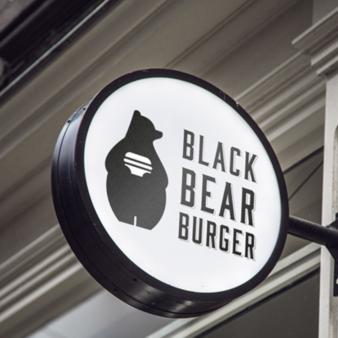 Logo Burger Black Bear Burger