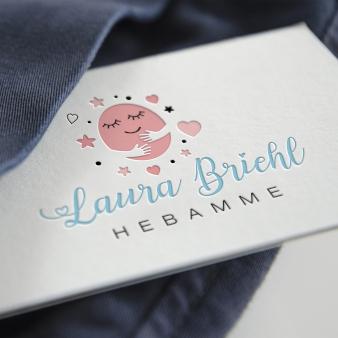 Feminines-Logo-Hebamme-Laura-Briehl