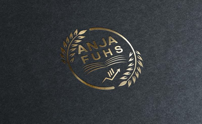 Anja-Fuhs-Metallic-Logo-Design