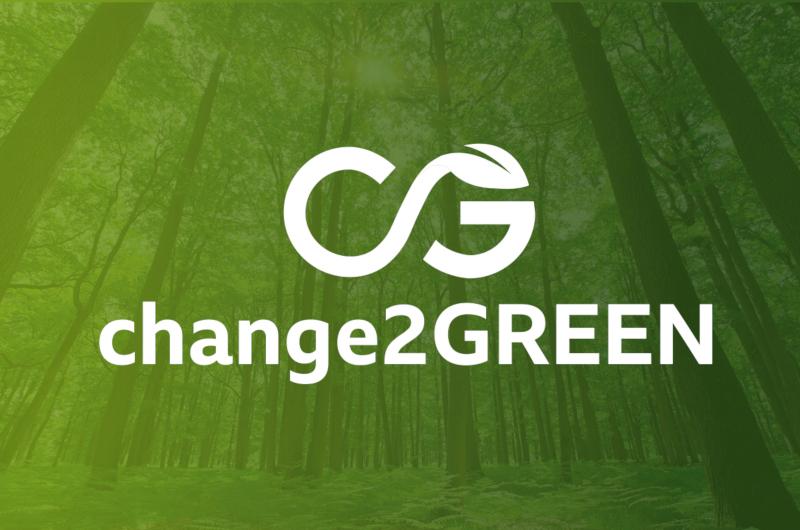 Change2Green nachhaltiges Logo-Design