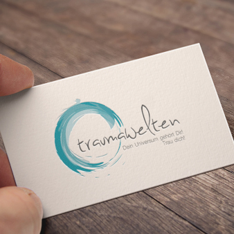 Farbverlauf-Logo-Trauma-Welten
